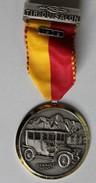 Médaille Récompense De Tir  Du Salon Au Fusil Pistolet Sportif 1979 Suisse Paul Kramer Neuchatel Renault 1910 - Sports
