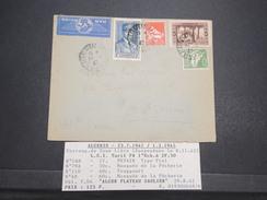 ALGERIE FRANçAISE - Env D'Alger Pour La Haute Savoie - Correspondance De Zone Libre - Août 1942 - P22073 - Algérie (1924-1962)