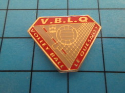 Pin414a Pin's Pins / Beau Et Rare / SPORTS : CLUB VOLLEY-BALL VBLQ VOLLEY-BALL LE QUESNOY - Billiards