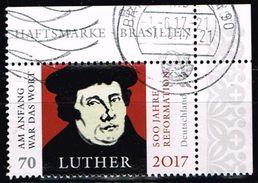 Bund 2017, Michel# 3300 O 500 Jahre Reformation - Martin Luther - BRD