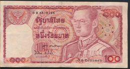 °°° THAILAND - 100 BATH °°° - Tailandia
