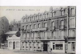 76 / LE TREPORT / HOTEL MODERNE ET BELLE VUE - Le Treport
