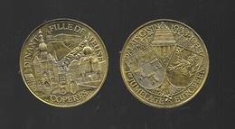 Pièce De Monnaie - Jeton - 50 Copères - Dinant - 1983 - Jumelage Européen - Casino - Tokens Of Communes