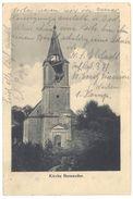 Cpa Kirche Bernwiller ( église ) - France