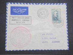 FRANCE - 1er Vol Montpellier Pour Marseille - Montpellier Pour Alger - 30 Mai 1939 - P22078 - Poste Aérienne