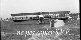 Guerre 14-18 AVIATION APPAREIL AYANT RECU DES ECLATS Négatif Par Militaire Escadrille VB 110 Aerodrome CROISETTE 1915 - 1914-18