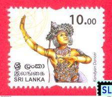 Sri Lanka Stamps 2017, Personalized Definitive, Kandyan Dancer, MNH - Sri Lanka (Ceylan) (1948-...)