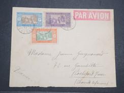 SENEGAL - Env Par Avion Dakar Pour Rochefort Sur Mer - Joliment Affranchie - 1927 - P22082 - Lettres & Documents
