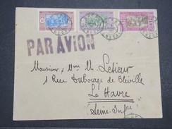 SENEGAL - Env De Dakar Pour Le Havre Par Avion - 1927 - P22086 - Sénégal (1887-1944)