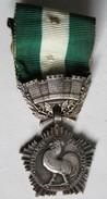 Médaille France Collectivités Locales G. Crouzat Coq - France