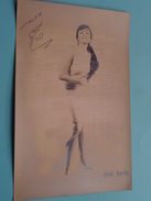 NINA BARLY ( Zie Foto's ) ! - Autogramme