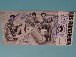 LOS RANCHEROS ( Zie Foto's ) ! - Autogramme