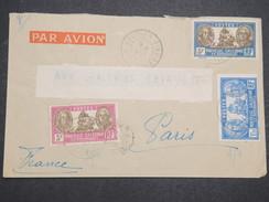 NOUVELLE CALEDONIE - Env De Nouméa Pour Paris - Par Avion - Juin 1937 - P22091 - Briefe U. Dokumente