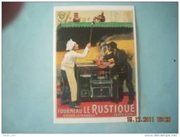 CLOUET  101031   FOURNEAU LE RUSTIQUE  ODELIN   CHOCARNE MOREAU 1904 - Advertising