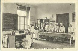 Blegny-Trembleur -- Institut St Joseph - Ecole Ménagère - Cuisine. (2 Scans) - Blegny
