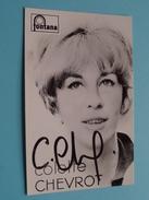 Colette CHEVROT ( Fontana ) ( Zie Foto's ) ! - Autographs