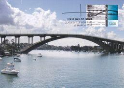 Australia 2015 Australian Bridges, Gladesville, Maximum Card - Maximumkaarten