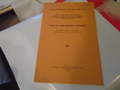 Volcanologie : Proposal For A Genetic Classification Of Hyaloclastites 1963 Salvatore Cucuzza Silvestri - Sciences De La Terre