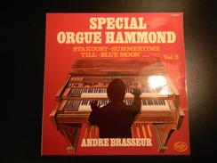 33 TOURS ANDRE BRASSEUR SPECIAL ORGUE HAMMOND VOL 2 MFP 026 11234 OUVERTURE POCHETTE DECHIREE A L OUVERTURE - Instrumental