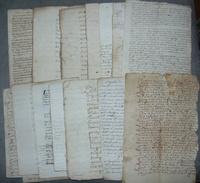 LOT DE VIEUX PAPIERS  18IEME SIECLE - Vieux Papiers
