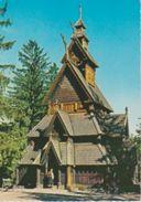 (NO141) OSLO. NORSK FOLKEMUSEUM . STAVE CHURCH FROM GOL - Noruega