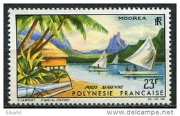 Polynésie, PA N° 009** Y Et T, 9, Paysage De Moorea - Poste Aérienne