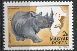 Hongrie PA 439 Ob   Rhinocéros - Rhinozerosse