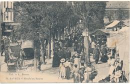BAYEUX - Marché Au Beurre - Cachet Hôpital Auxiliaire N°27 - Bayeux