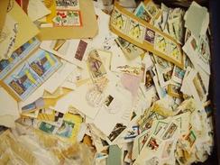 Kiloware Deutschland 1KG, Wenig Ausland - Lots & Kiloware (mixtures) - Min. 1000 Stamps