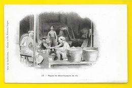 Repas De Décortiqueurs De Riz (Claude Et Co) Cochinchine Viet-Nam - Viêt-Nam