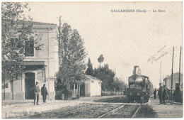GALLARGUES - La Gare - Gallargues-le-Montueux