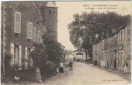Vosges : Lamarche, Rue De Bellune, La Poste - Lamarche