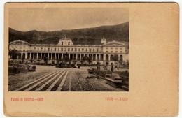 PALACIO DE GOBIERNO - QUITO - ECUADOR - Vedi Retro - Formato Piccolo - Ecuador