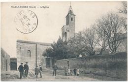 GALLARGUES - L'Eglise - Gallargues-le-Montueux