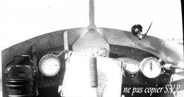 Guerre 14-18 AVIATION INTERIEUR D'APPAREIL VOISIN REPARE  Négatif  Militaire Escadrille VB 110 Aerodrome CROISETTE 1915 - 1914-18