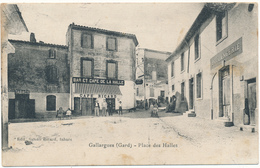 GALLARGUES - Place Des Halles - Gallargues-le-Montueux