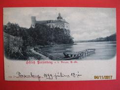 AUSTRIA - SCHLOSS PERSENBURG - ED. C. LEDERMANN 1899 - Melk