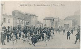 GALLARGUES - Arrivée De La Course Sur Le Plan De La Mairie - Gallargues-le-Montueux
