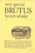 1542 - Ecosse - Very Special Brutus Scotch Whisky Ecossais  - Importé Par World Wine Blenders & Bottlers - Lisboa - Whisky