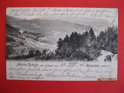 AUSTRIA - MARIA SHUTZ - RAXALPE 1906 - ED. C. LEDEERMANN - Neunkirchen