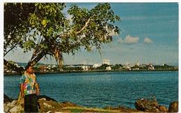 WESTERN SAMOA - APIA, HARBOR AND WATERFRONT, CAPITAL OF THE SOUTH PACIFIC'S NEW INDEPENDEN..Vedi Retro - Formato Piccolo - Samoa