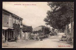 54.  OGEVILLER.   (  MEURTHE- ET- MOSELLE ).  SUR LA ROUTE DE BLÂMONT ...... C2407 - France