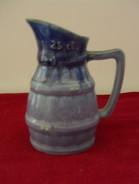 """Petit Pichet    """" Style  Provencal  """"  25 Cl    Couleur Bleu    (  Hauteur  12 Cm   -  Diamètre 7 Cm  ) - Dishware, Glassware, & Cutlery"""