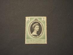 VIRGIN - 1953 REGINA - NUOVO(++) - British Virgin Islands