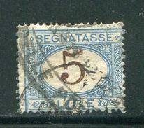 ITALIE- Taxe Y&T N°16- Oblitéré - Segnatasse