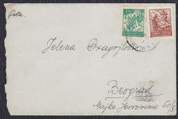 Yugoslavia 1946 Partisans, Letter Sent From Subotica To Beograd - 1945-1992 Socialist Federal Republic Of Yugoslavia