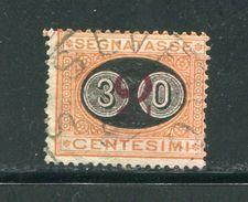 ITALIE- Taxe Y&T N°24- Oblitéré - 1878-00 Humbert I.