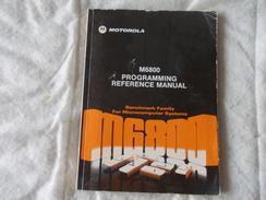 M68000 Programming Reference Manual Motorola 1976 - Livres, BD, Revues