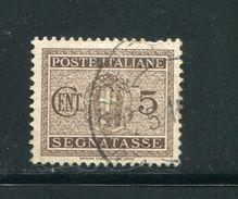 ITALIE- Taxe Y&T N°28- Oblitéré - Segnatasse
