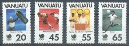 Vanuatu YT N°806/809 Jeux Olympiques De Séoul 1988 Neuf ** - Vanuatu (1980-...)